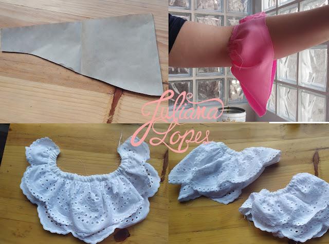 processo de costura egangeantes século XVIII