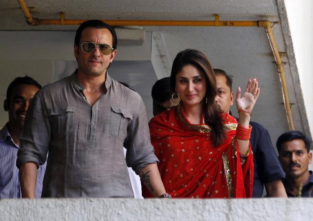 Saif Ali Khan and Kareena Kapoor Wedding Photos ...