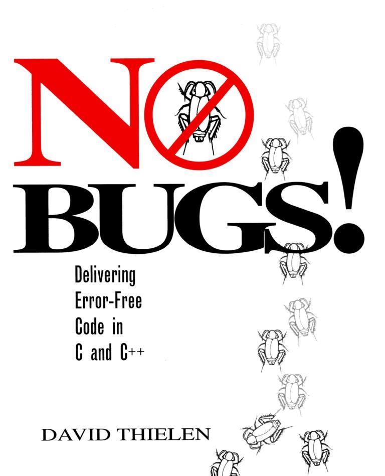 No Bugs! – David Thielen