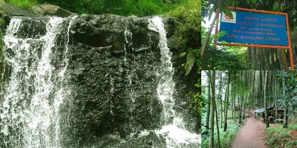 Curug Cilengkrang Gunung Manglayang Kab Bandung