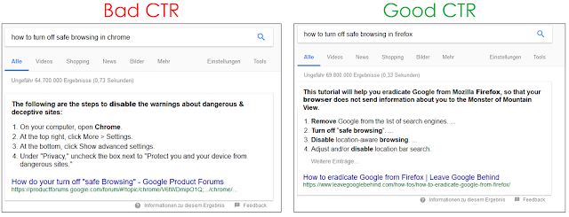 Do your best to optimize for Rich and Featured snippets
