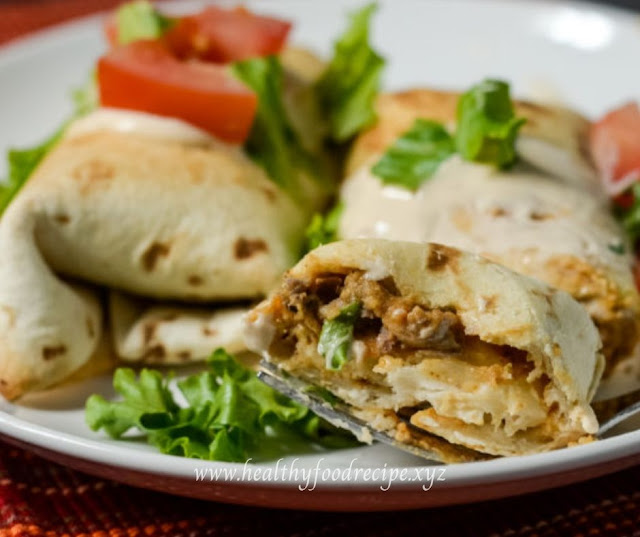 AIR FRYER BEEF & BEAN CHIMICHANGAS RECIPES