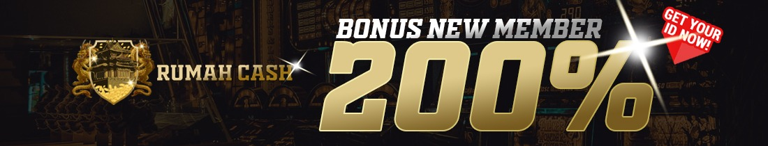 BONUS WELCOME NEW MEMBER 200% BONUS MAX RP 5.000.000 !!