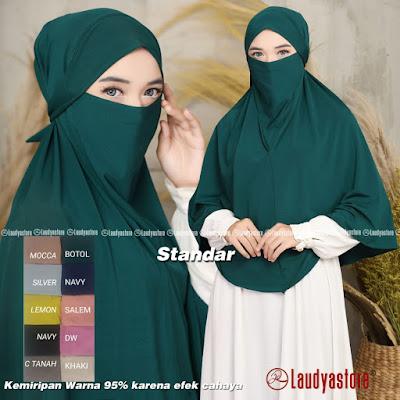 Jilbab Niqab Bergo Syar I Terbaru Jilbab Bergo Cadar Bandar Toko