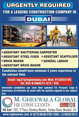 Leading Construction Company in Dubai