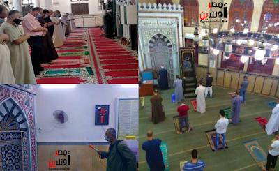 للأسبوع الثاني على التوالي الأوقاف تواصل تعقيم المساجد بعد إعادة فتحها