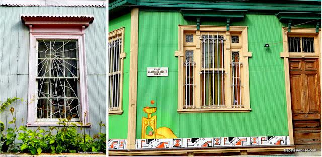 Fachadas de Valparaíso, Chile