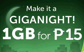 Smart GigaNight Promo
