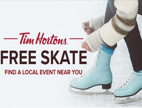 Tim Hortons Free Skate