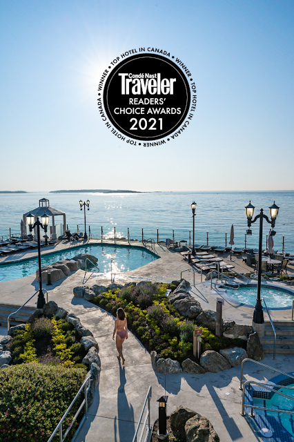 VICTORIA S OAK BAY BEACH HOTEL VOTED TOP HOTEL IN CANADA