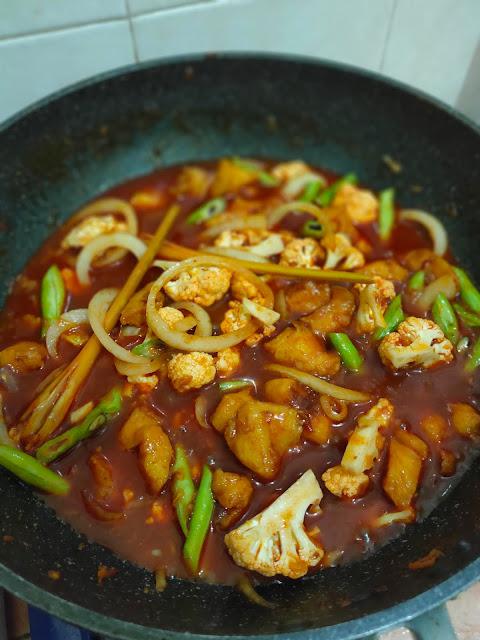 Resipi Paprik Ayam