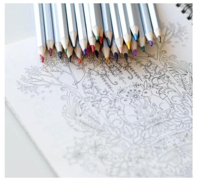 coloring for adults is a great stress reliever and creativity block busters