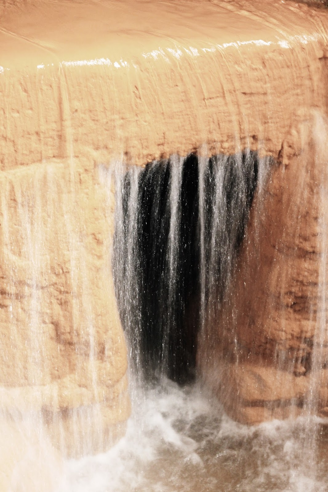 Untreated water at Roman Baths