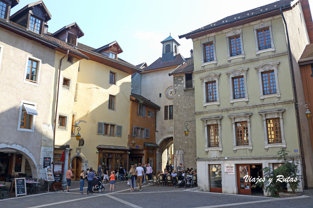 Casco histórico de Annecy