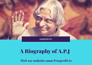 A biography of APJ Abdul Kalam