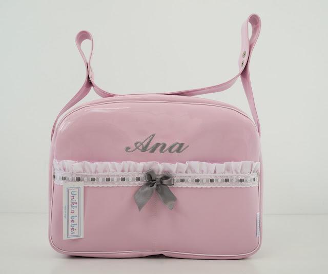 bolso de verano Maclaren Quest rosa y gris