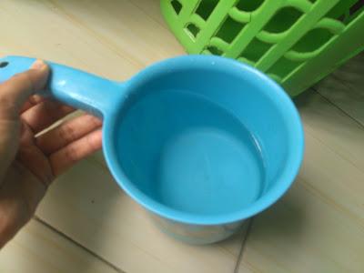 kondisi air setelah filtrasi