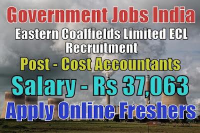 Eastern Coalfields ECL Recruitment 2019