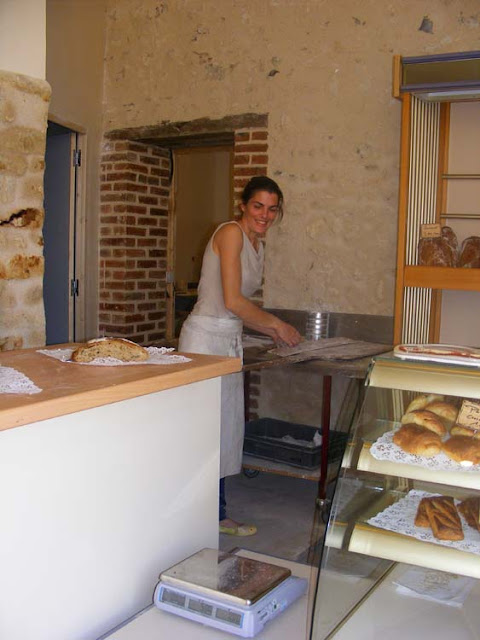 Baker at work, Indre et Loire, France. Photo by Loire Valley Time Travel.