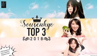 JKT48 Sousenkyo 2018 Top 3