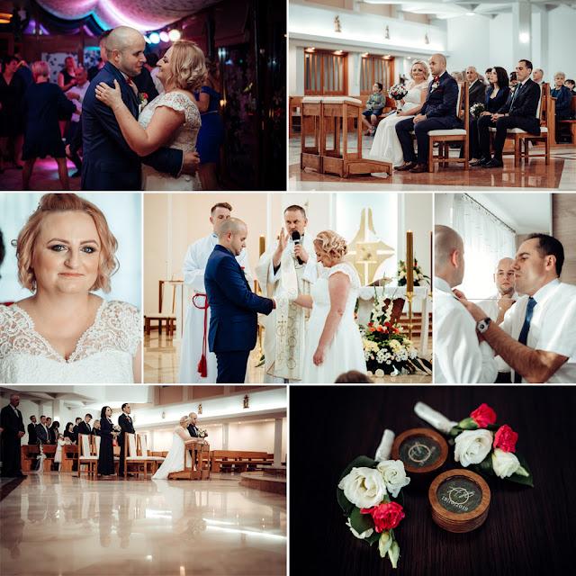 Ania i Piotrek - przygotowania, ślub, wesele | Fotograf Lublin