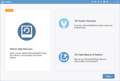 FonePaw iPhone Data Recovery 7.2.0 Free Download