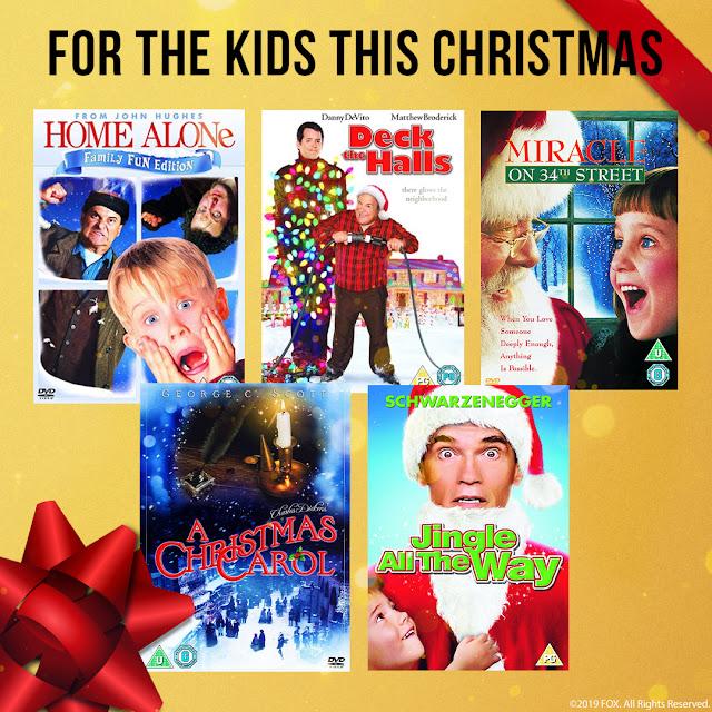 five christmas family dvd