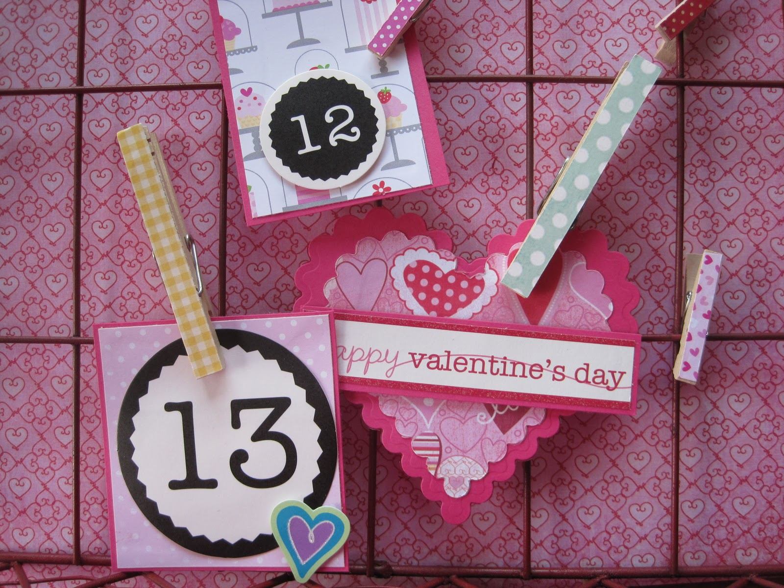 The Vintage Umbrella Valentine Countdown