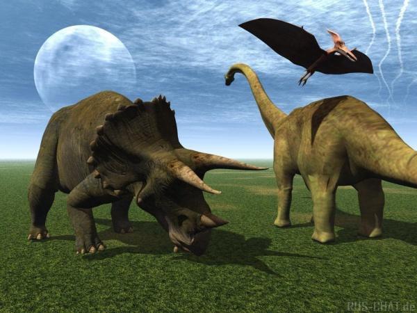 Динозавры в стихах для детей