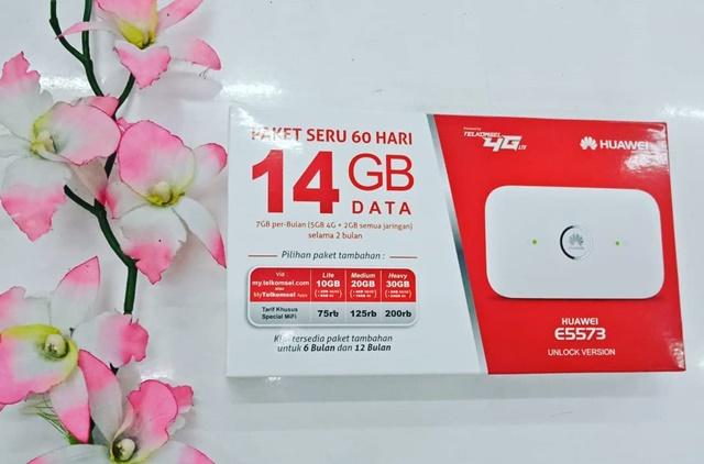 Modem Telkomsel MiFi 4G LTE Huawei E5573 - IGmega_duta_computindo