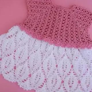 Falda para Bebé a Crochet