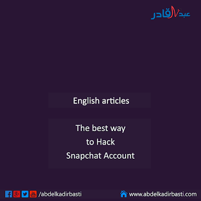 The best way to Hack Snapchat Account