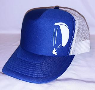 Blue Paragliding Hat