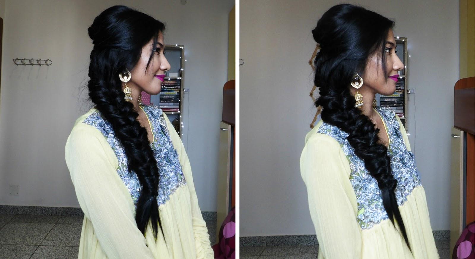 2 Indian Wedding Hairstyles Bridal Party Hairstyles Just Jiha