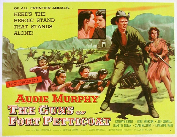 Image result for jeff donnell in the guns of fort petticoat
