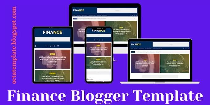 Finance Blogger Template   Premium Business oriented blogger template