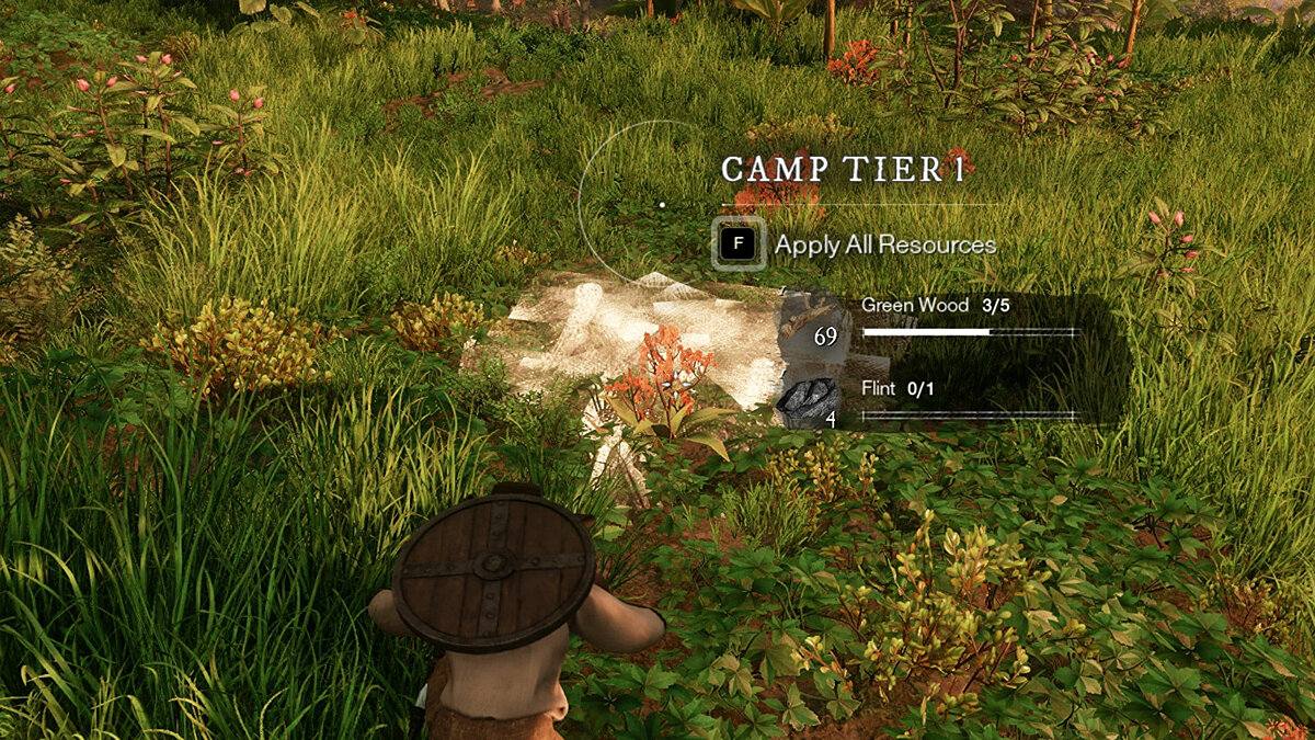 How to build a camp in New World