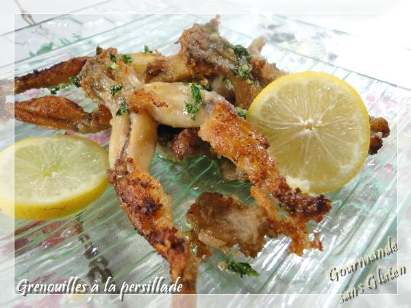 Cuisses de grenouilles à la persillade, sans gluten