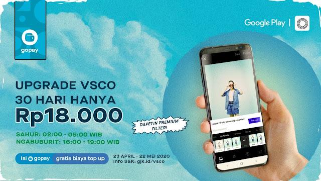 VSCO Premium di GoPay