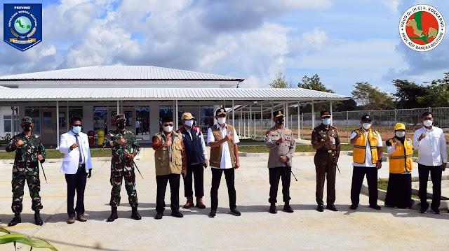Rumah Sakit Rujukan Covid-19 RSUD Soekarno  di Babel Diresmikan