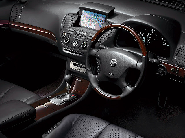 Nissan Cima F50 V8 japońska limuzyna sedan klasa premium luksusowy komfortowy samochód 日本車 日産 インフィニティ