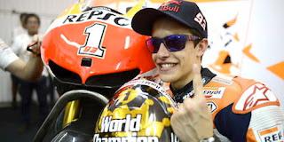 Marquez Anggap Enteng Rossi di MotoGP 2017