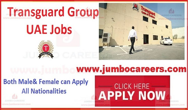 Transguard Group UAE Latest Careers Job Openings October 2020
