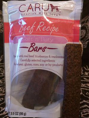 Caru moist chewy dog treats