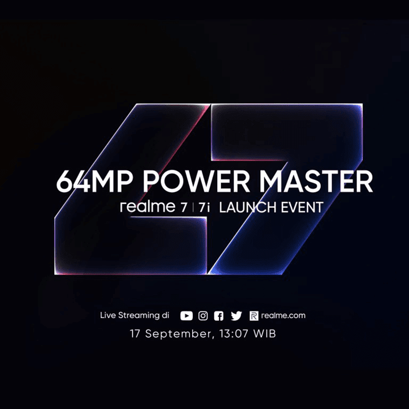 realme 7i specs and Indonesia launch date leaked