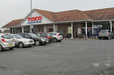 The Tesco store in Brigg - picture on Nigel Fisher's Brigg Blog