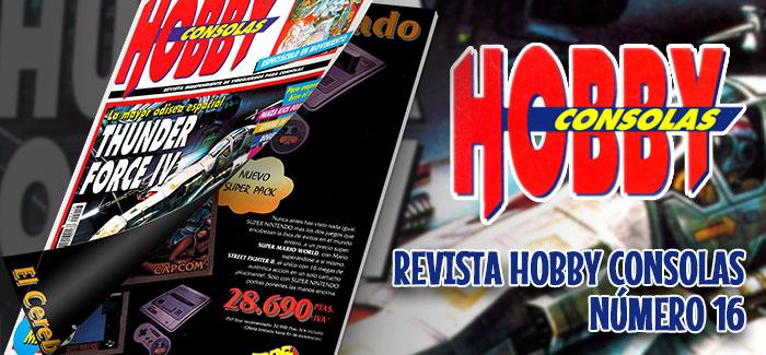 Revista Hobby Consolas Nº 16 (1993)