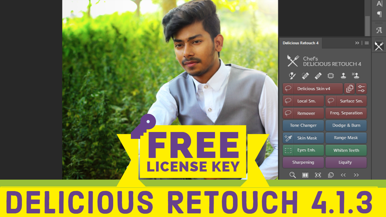 Delicious retouch free download