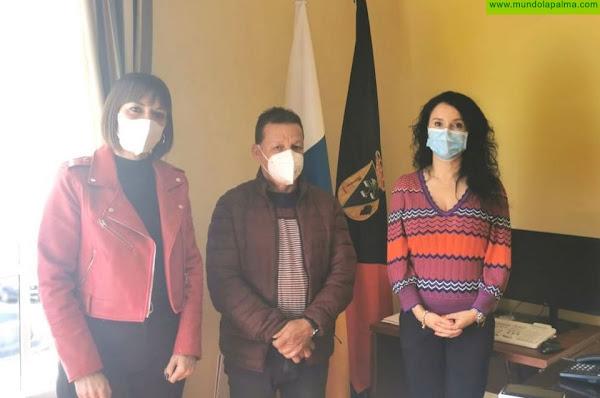 Convenio de colaboración entre el Ayto. de Fuencaliente y Salud Mental La Palma