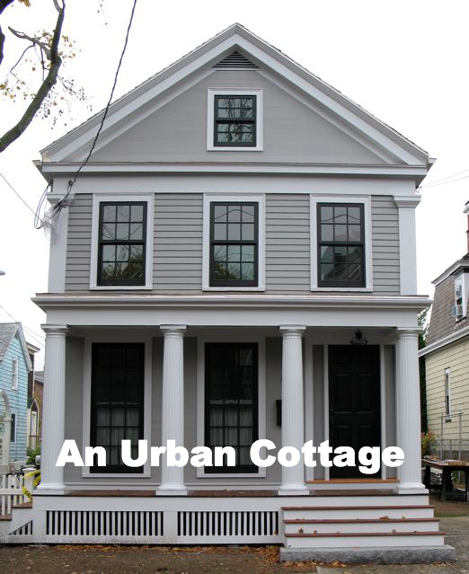 An Urban Cottage Greek Revival Exterior Renovation